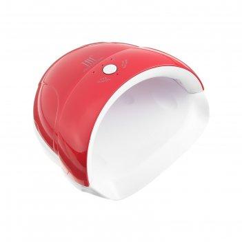 Лампа для гель-лака tnl quick, uv-led, 24 вт, красная