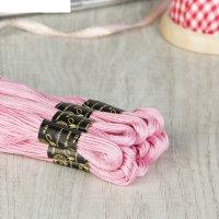 Мулине 10м, (№1005), цвет нежно-розовый