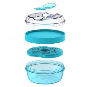 Ланч-бокс с охлаждающим элементом n'ice cup™ бирюзовый