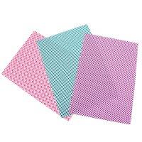 Ткань на клеевой основе для скрапбукинга (набор 3 листа) треугольники 20х2
