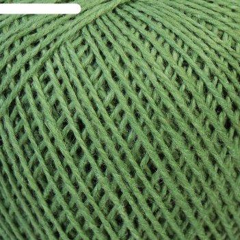 Нитки вязальные флокс 150м/25гр 100% хлопок немерсеризованный цвет 2304