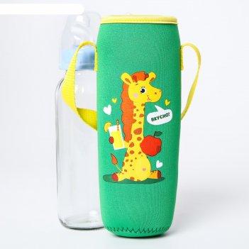 Термосумка для бутылочки жирафик