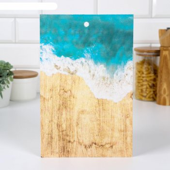 Доска разделочная «волна», 18 x 28 x 0,6  см