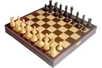 Rtc-7808 шахматы классические большие деревянные утяжеленные