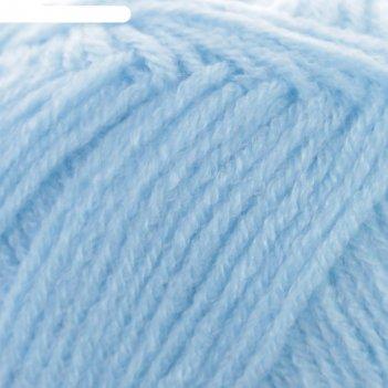 Пряжа adelia maria 100% акрил 227м/50гр (11 голубой)