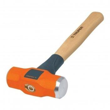 Молоток инженерный truper md-2m,  0.9 кг, деревянная ручка 30 см, антишоко