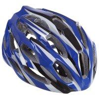 Шлем велосипедиста взрослый t28, размер 52-60 см, цвета микс