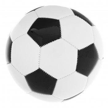 Мяч футбольный classic, размер 3, 32 панели, pvc, 3 подслоя, машинная сшив