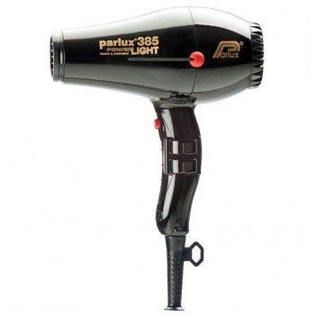 Фен 0901-385 black  parlux 385 power light черный, 2150вт. ионизация, 2 на