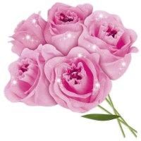 Набор для творчества - создай букет из конфет роза