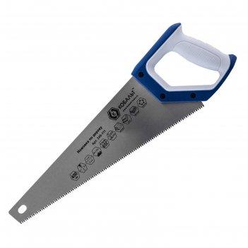 Ножовка по дереву кобальт 246-111, 7 tpi, 3d-заточка