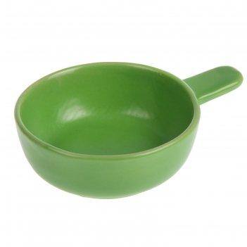 Кокотница «базилик», 100 мл, цвет зелёный