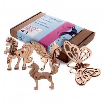 Набор миниатюрных конструкторов для девочек