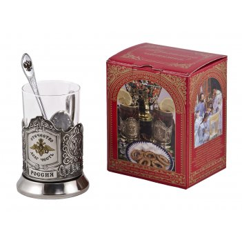 Набор для чая отечество (3 пр.) арт. пд-91кс лг