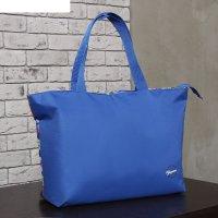 Сумка пляжная на молнии bagamas, 1 отдел, цвет синий/разноцветный