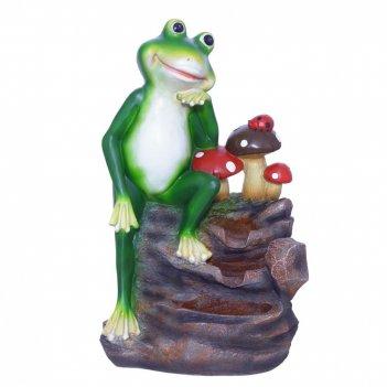 Фонтан декоративный лягушка, l35,5 w25,5 h58 см