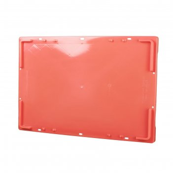 Крышка для ящика, 506п, 60,9х40,9см, красная