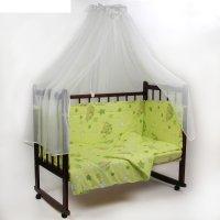 Комплект в кроватку 7 предмета гамачки зеленый 10700