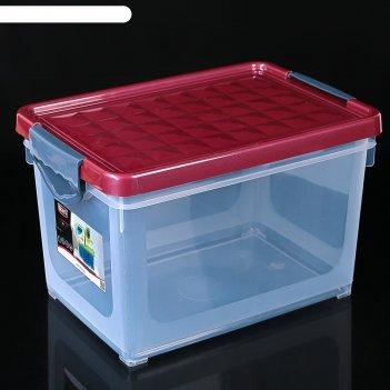 Ящик для хранения systema 19 л зеленый прозрачный