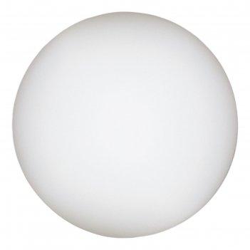 Настольная лампа a6020lt-1wh sphere 1x60w e27 20x20x20 см