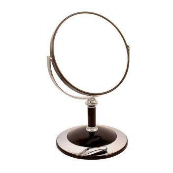 Зеркало* b68021 blk/c black настольное 2-стор. 5-кр.ув.15 с