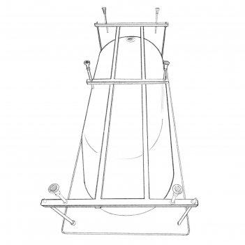 Каркас для ванны eurolux orio e5018080052,180x80 см, усиленный