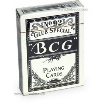 Карты для игры в покер полупластик bcg