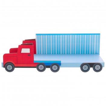 Полка детская грузовик