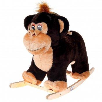 Качалка обезьянка-мальчик, цвета микс