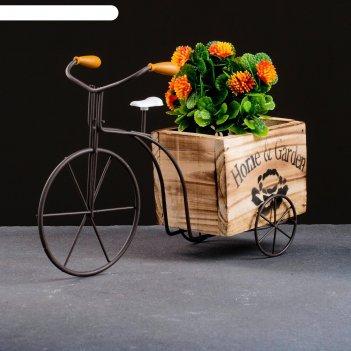 Кашпо-велосипед 29*11*19см