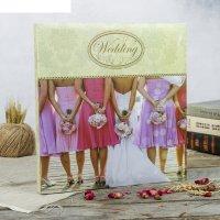 Фотоальбом магнитный 30 листов свадебный альбом-3 31,5x32,5 см