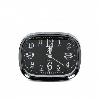 Часы-будильник настольные 12*10см
