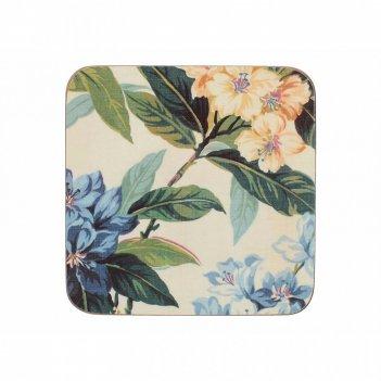 Creative tops набор из 6 подставок traditional floral 10х10