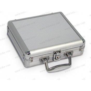 Алюминиевый кейс для фишек на 200 шт. (пустой)