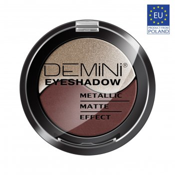 Тени для век demini metallic matte effect eye shadow, тон 804