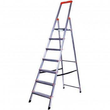 Стремянка krause monto solidy , оградительная дуга, рабочая высота 3.49 м,