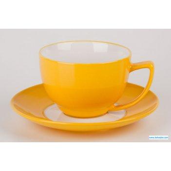 Кофейная пара вехтерсбах желтая на 6 персон