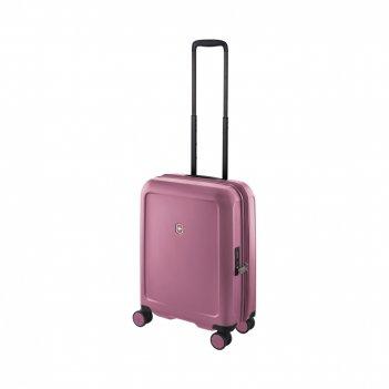 Чемодан victorinox connex, пурпурно-розовый, поликарбонат makrolon, 40x20x