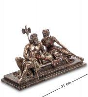 Ws-646/ 1 статуэтка зевс и гера