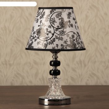 Лампа настольная элегия е27 40w 220в низ с подсветкой 33х22х22 см