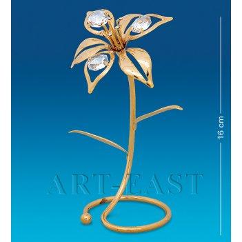 Ar-1306 фигурка цветы лилии (юнион)