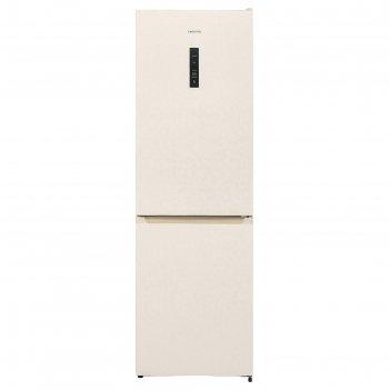 Холодильник hiberg rfc-330d nfym, двухкамерный, класс а+, 300 л, total no