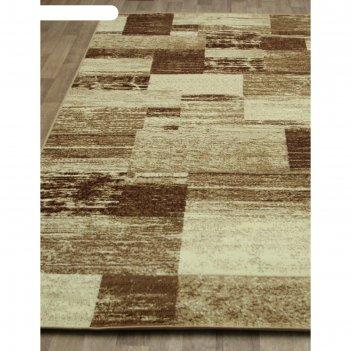 Прямоугольный ковёр laguna d492, 80x150 см, цвет beige