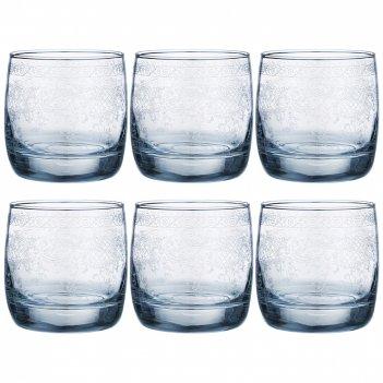 Набор стаканов из 6 шт light blue ренесанс 310 мл