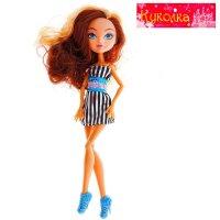 Кукла шарнирная лика-модница, микс