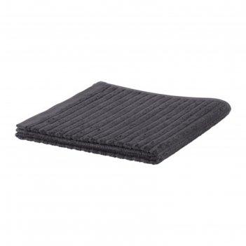 Полотенце вогшён, размер 50 x 100 см, тёмно-серый