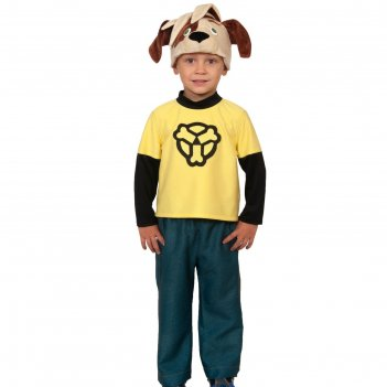 Костюм карнавальный дружок серия барбоскины (маска-шапочка, рубашка, штаны