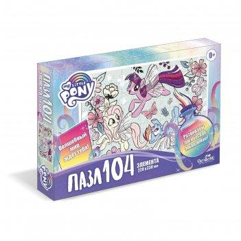 Пазл 104 эл. пони. пони в цветах 05709