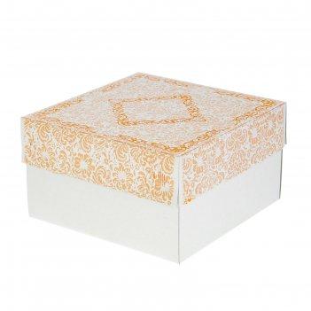 Кондитерская упаковка, 1 кг, 21 х 21 х 12 см