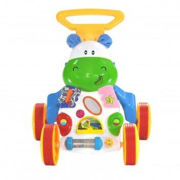 Игровой центр-ходунок everflo happy hippo